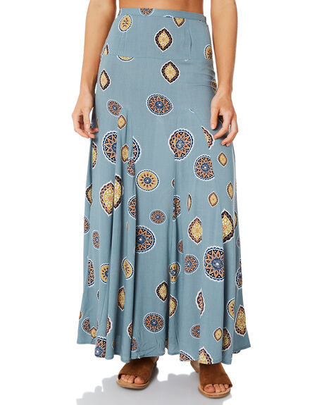 BLUE WOMENS CLOTHING TIGERLILY SKIRTS - T383271BLUE