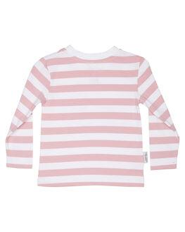 PINK STRIPE KIDS GIRLS TINY TRIBE TOPS - TTGW18-1004APPNKST