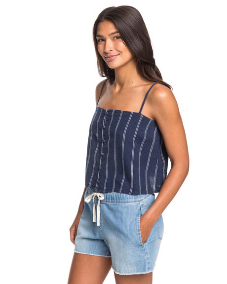 MOOD INDIGO WOMENS CLOTHING ROXY FASHION TOPS - ERJWT03403-XWBB