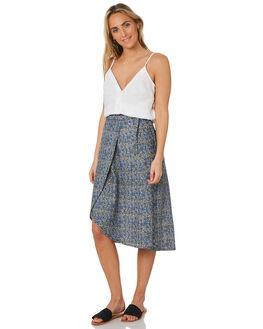 FARAWAY BORDER PRINT WOMENS CLOTHING SWELL SKIRTS - S8203472FARAW