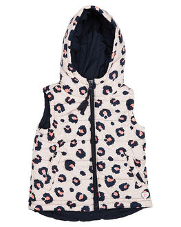 LEOPARD PRINT KIDS TODDLER GIRLS EVES SISTER JACKETS - 8090091PRNT
