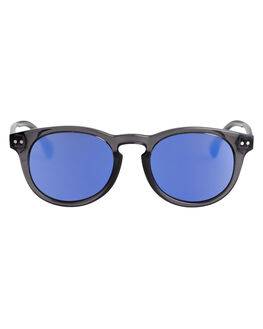 MATTE CRYSTAL SMOKE KIDS BOYS QUIKSILVER SUNGLASSES - EQBEY03007-XSSB