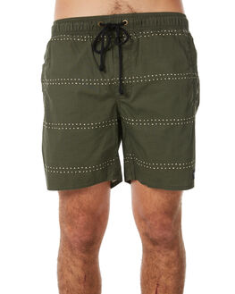 ORIGINS DUSTY OLIVE MENS CLOTHING AFENDS BOARDSHORTS - M183352DUSOLV