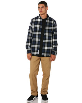 CHECK MENS CLOTHING CARHARTT SHIRTS - I025230LCHK