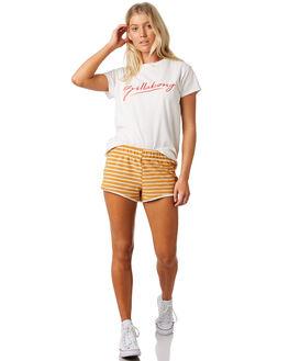 HONEY GOLD WOMENS CLOTHING BILLABONG SHORTS - 6581366HON