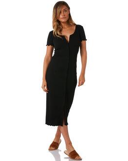 NOIR WOMENS CLOTHING THE BARE ROAD DRESSES - 991141-01NOI