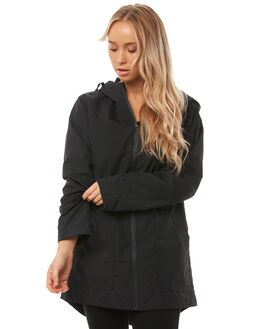 BLACK WOMENS CLOTHING VOLCOM JACKETS - B1511875BLK