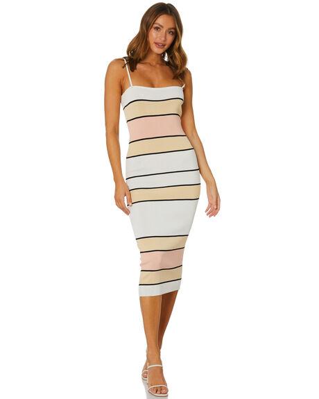 STRIPE WOMENS CLOTHING SNDYS DRESSES - SFD370STP