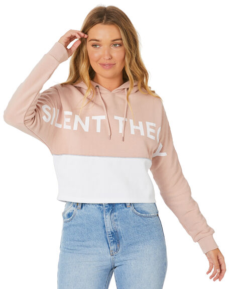 PINK WOMENS CLOTHING SILENT THEORY JUMPERS - 6053008PNK