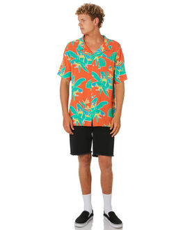 ORANGE MENS CLOTHING THE LOBSTER SHANTY SHIRTS - LBSLOCAL-ORG