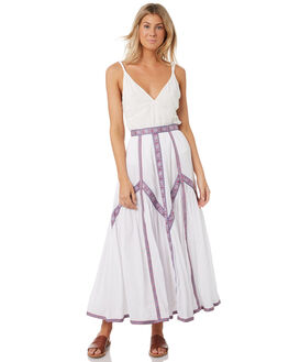 WHITE WOMENS CLOTHING TIGERLILY SKIRTS - T393277WHT