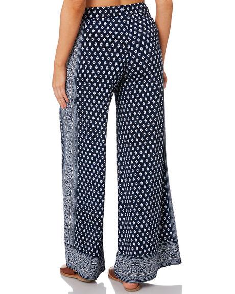 NAVY WOMENS CLOTHING TIGERLILY PANTS - T392371NAVY