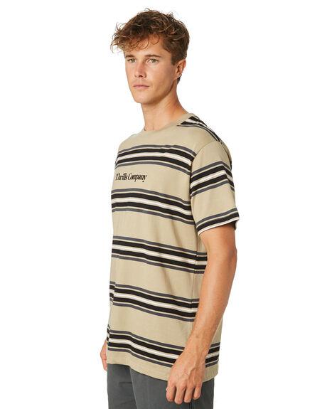TAN MENS CLOTHING THRILLS TEES - TR8-110CZTAN
