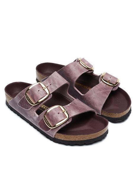 LAVENDER BUSH WOMENS FOOTWEAR BIRKENSTOCK FASHION SANDALS - 1017555LBUSH
