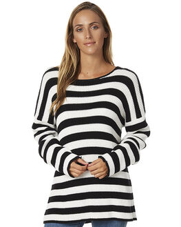 COOL WIP BLACK WOMENS CLOTHING BILLABONG KNITS + CARDIGANS - 6576785CWK