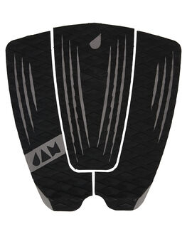 BLACK BOARDSPORTS SURF JAM TRACTION TAILPADS - TPR3PBLK