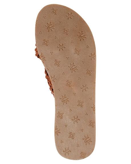 BROWN WOMENS FOOTWEAR O'NEILL SLIDES - SP9484009BRN