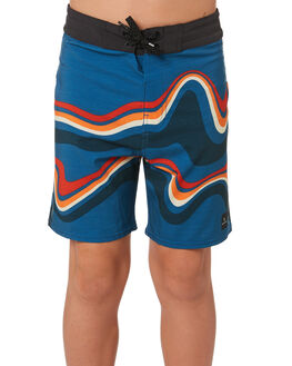 BLUE KIDS BOYS RIP CURL BOARDSHORTS - KBOVG20070