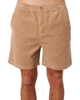 TAN MENS CLOTHING NO NEWS SHORTS - N5201233TAN