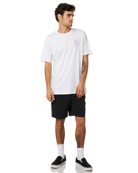 WHITE MENS CLOTHING STAY TEES - STE-20309WHT