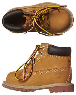 WHEAT KIDS TODDLER BOYS TIMBERLAND FOOTWEAR - 12809WHEA
