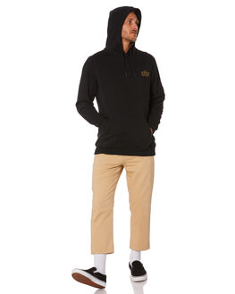 BLACK MENS CLOTHING RUSTY JUMPERS - FTM0937BLK
