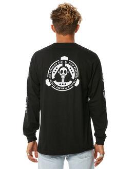 BLACK MENS CLOTHING ALIEN WORKSHOP TEES - BUNKERLSBLK