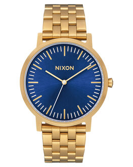 ALL GOLD BLUE SUNRAY MENS ACCESSORIES NIXON WATCHES - A10572735