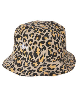 LEOPARD MENS ACCESSORIES STUSSY HEADWEAR - ST783007LEOP