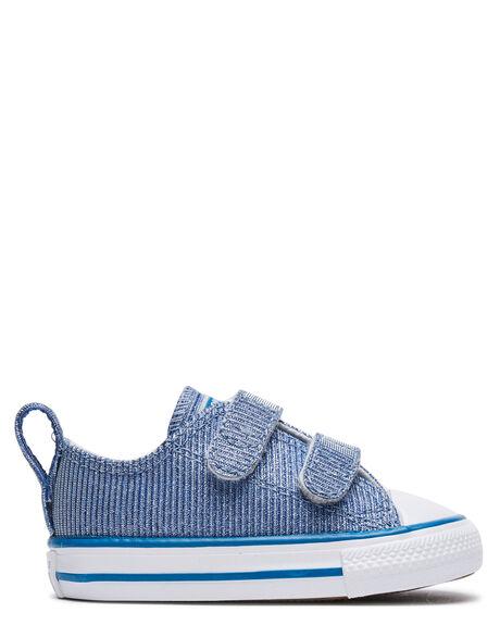 ICE BLUE KIDS GIRLS CONVERSE FOOTWEAR - 768884CIBLU