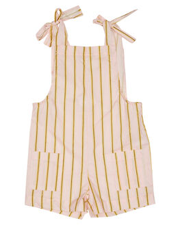 PINK YELLOW WHITE KIDS GIRLS EVES SISTER DRESSES + PLAYSUITS - 8044045PKYLW