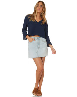 NAVY WOMENS CLOTHING ALL ABOUT EVE FASHION TOPS - 6423069NAVY