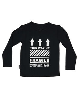 BLACK KIDS BOYS TINY TRIBE TOPS - TTBF19-1004ABLK
