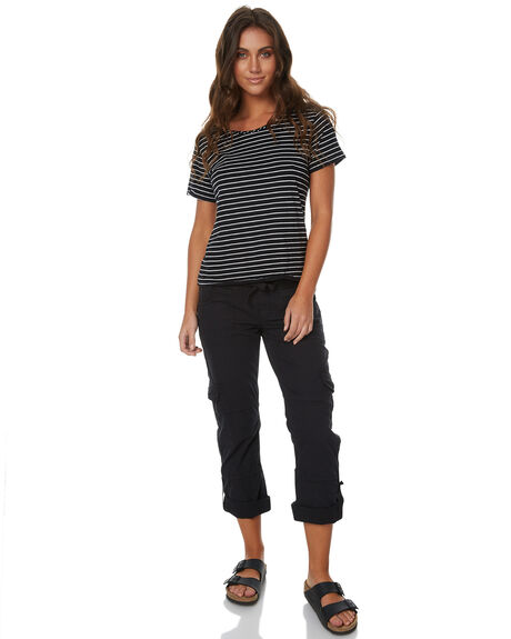 BLACK WOMENS CLOTHING RIP CURL PANTS - GPABJ10090
