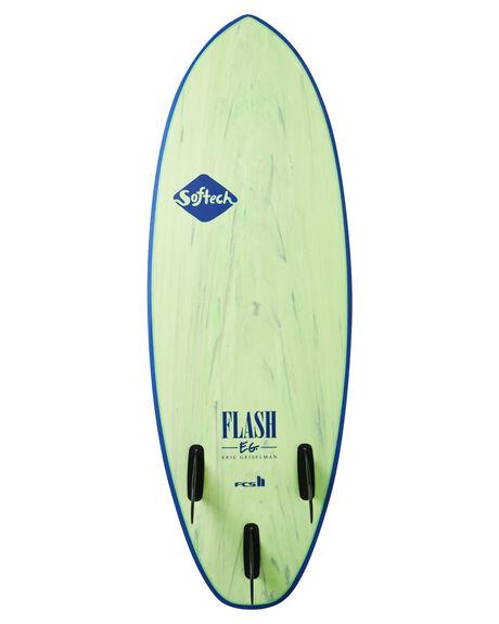 GREEN MARBLE BOARDSPORTS SURF SOFTECH SOFTBOARDS - FEGII-GNM-050GRNM