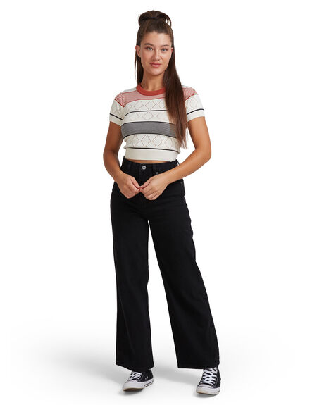 CLOUD WOMENS CLOTHING RVCA FASHION TOPS - RV-R417682-C36