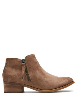 TAUPE WOMENS FOOTWEAR THERAPY BOOTS - 9573TAUPE