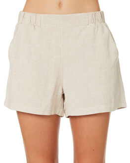 NATURAL WOMENS CLOTHING BETTY BASICS SHORTS - BB806HS18NATUR