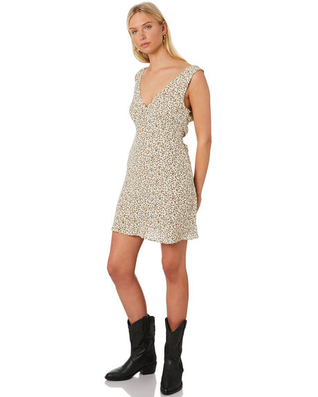 THRIFT WHITE WOMENS CLOTHING THRILLS DRESSES - WTS20-903ATWHT