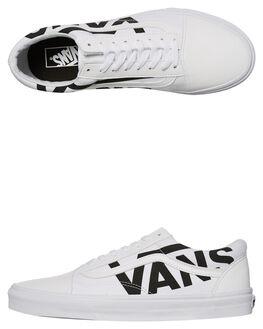 TRUE WHITE BLACK MENS FOOTWEAR VANS SKATE SHOES - VNA38G1QW8WHT