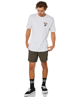 WHITE MENS CLOTHING TOWN AND COUNTRY TEES - TTE514AWHT