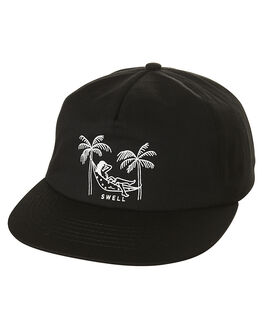 BLACK MENS ACCESSORIES SWELL HEADWEAR - S51611611BLK