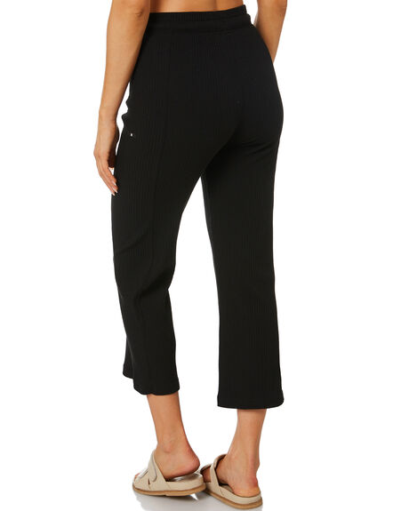 BLACK WOMENS CLOTHING HURLEY PANTS - 3HWKP0060BLK