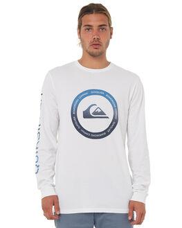 WHITE MENS CLOTHING QUIKSILVER TEES - EQYZT04764WBB0