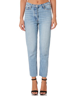 BLEACHED INDIGO WOMENS CLOTHING C&M CAMILLA AND MARC JEANS - CMD8154BLE