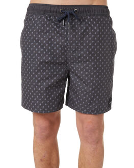 NEW NAVY MENS CLOTHING RVCA BOARDSHORTS - R181407NNVY