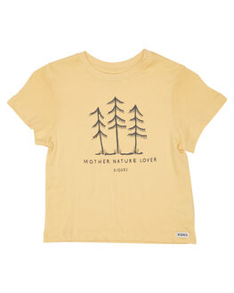 YELLOW FADE KIDS TODDLER GIRLS RIDERS BY LEE TOPS - R-80202K-MJ4