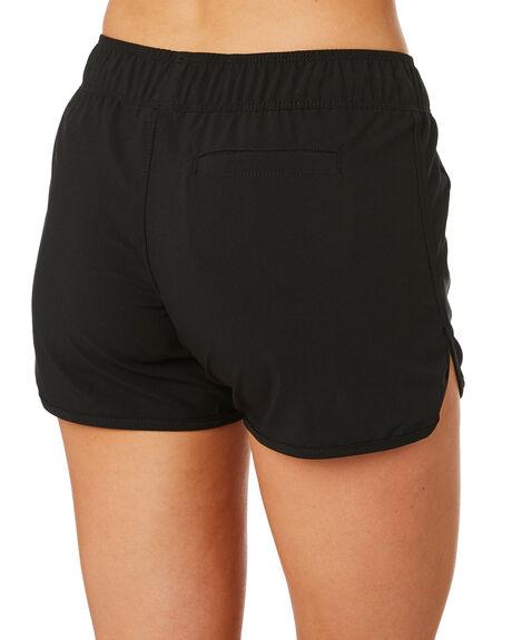 BLACK WOMENS CLOTHING HURLEY SHORTS - BV2051-010