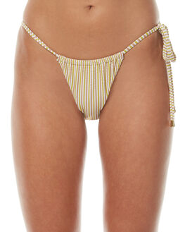 STRIPE WOMENS SWIMWEAR PEONY SWIMWEAR BIKINI BOTTOMS - SU17-14-CRESTRP