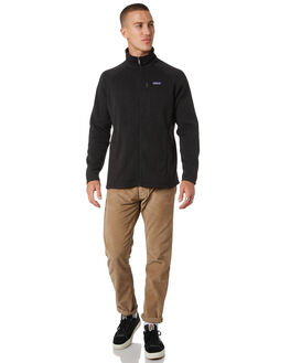 BLACK MENS CLOTHING PATAGONIA JUMPERS - 25527BLK
